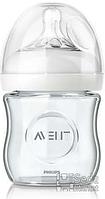 Бутылочка для кормления Avent Natural SCF671/17, стеклянная, 120 мл (SCF671/17)