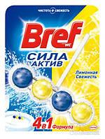 Средство для туалета Bref Сила Актив Лимонная Свежесть, 50 г (9000100625289)