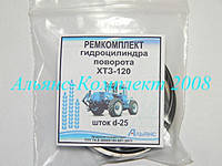 Ремкомплект гидроцилиндра поворота ХТЗ-120 (ГЦ-63х25