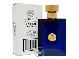 Тестер без крышечки духи мужские Versace Pour Homme Dylan Blue( Версаче Пьюр Хоум Дейлин Блю)