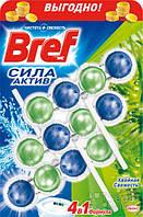 Средство для туалета Bref Сила Актив Хвойная свежесть Триопак, 50 г (9000100753432)