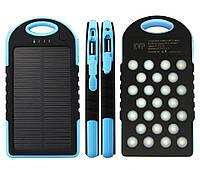 Внешний аккумулятор Power Bank 28000 mAh Slim Solar 2 USB 25 Led KZ