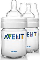 Philips Avent Детская бутылочка серии Natural SCF680/27 2 детские бутылочки серии Classic 125 мл