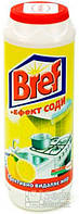 """Порошок для чистки кухонных поверхностей Bref """"+ эффект соды"""" Лимон, 500 г"""