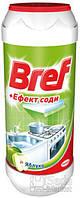"""Порошок для чистки кухонных поверхностей Bref """"+ эффект соды"""" Яблоко, 500 г"""