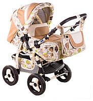 Детская коляска-трансформер Adamex Young 400P