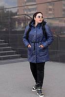 Женская батальная куртка в расцветках e-1015132, фото 1