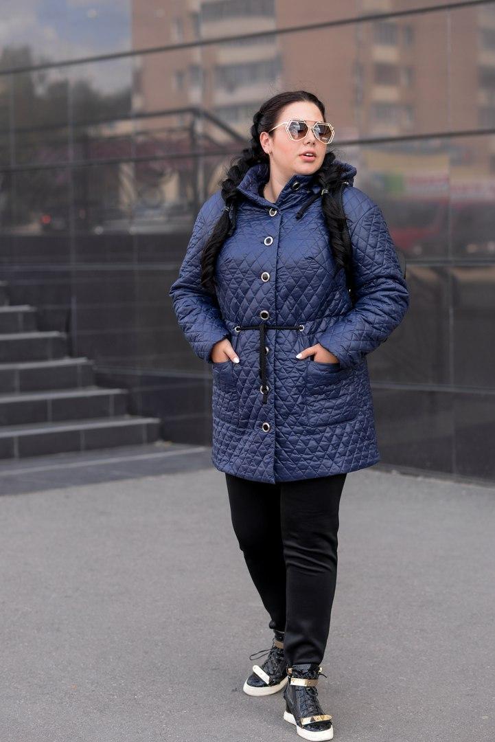Женская батальная куртка в расцветках e-1015132