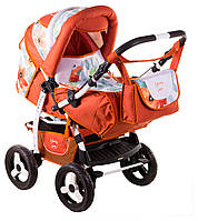 Детская коляска-трансформер Adamex Young 413P