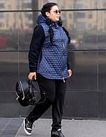 Женская куртка в больших размерах w-1015133, фото 1