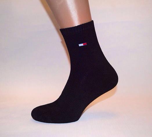 Махровые подростковые носки 35-41 Хлопок «Tommy Hilfiger реплика», фото 2