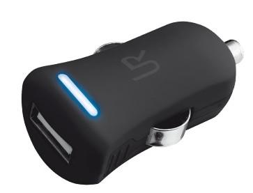 Автомобільний зарядний пристрій TRUST URBAN Smart Car Charger (Black)
