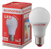 Светодиодная лампа Economka  A60 10w E 27 4200К