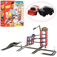 Детский Игровой Гараж-Трэк 922-6 (5 Уровней Парковки, 2 Машинки)