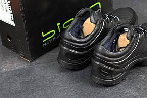 Мужские зимние кроссовки ECCO BIOM, черные 45р, фото 2