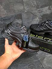 Мужские зимние кроссовки ECCO BIOM, черные 45р, фото 3