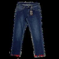 Мужские джинсы прямые темно-синие