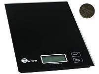 Весы кухонные Turbo 01 TV-01 WHITE/BLACK , фото 1