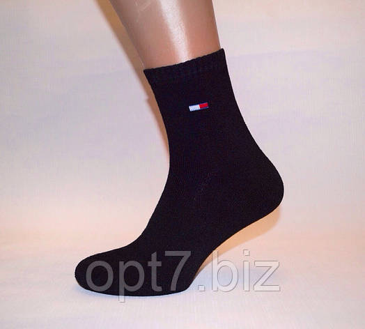 Махровые мужские носки 41-45 Хлопок «Tommy Hilfiger», фото 2