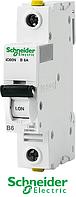 """Автоматический выключатель IC60N В 1p 6A  ТМ """"Schneider Electric"""""""