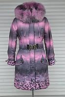 Акция Пуховик Rufuete, пальто с мехом, супер качество M, 44, фото 1