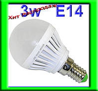 Светодиодная лампочка 3W 220В Е14