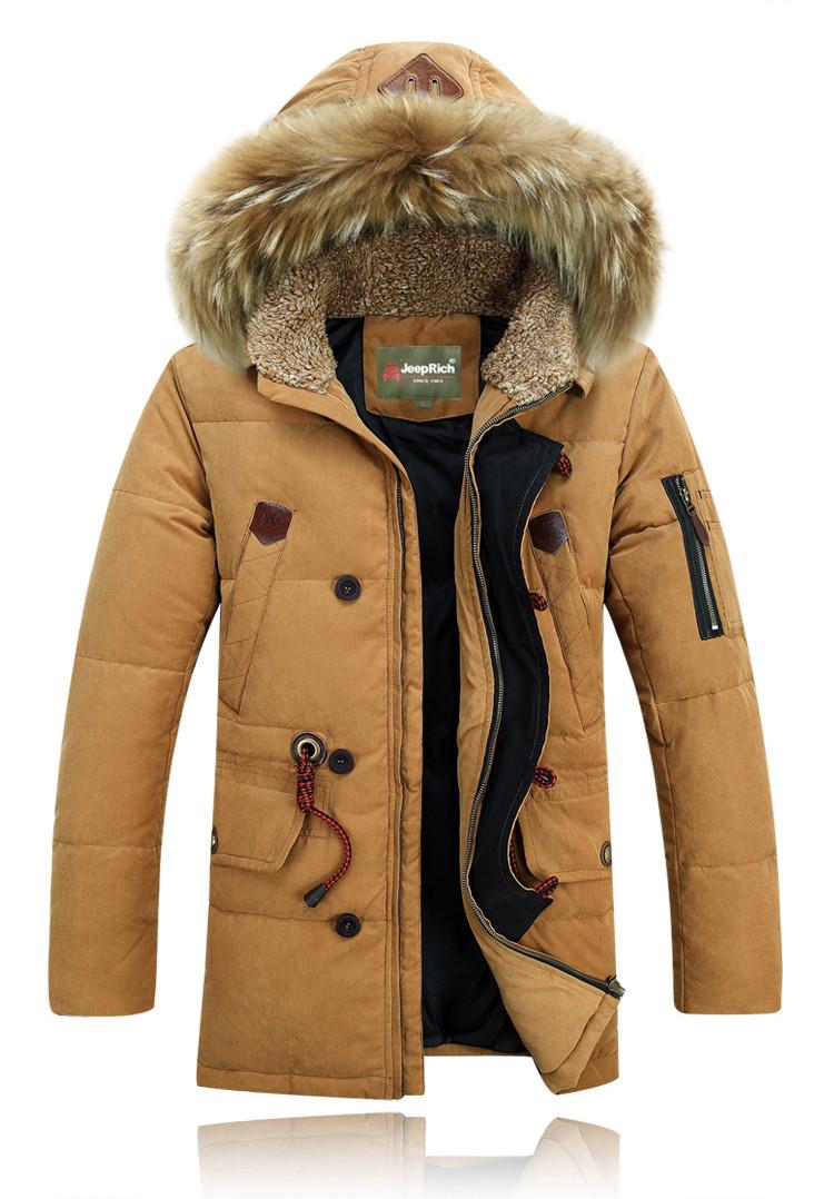 "Куртка-пуховик мужская зимняя ""JEEP RICH"" 3 XL"