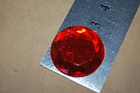 Камень с гранями на клей красный