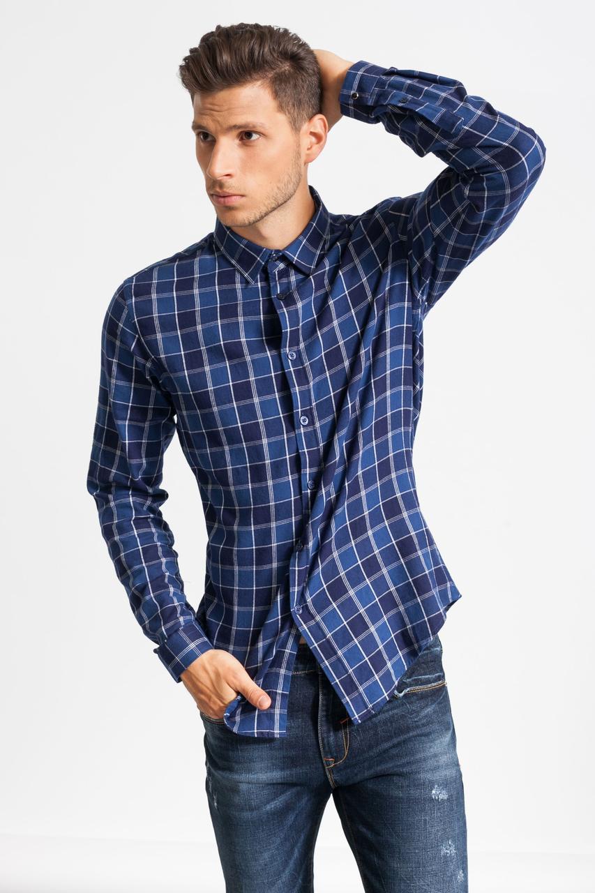 Рубашка мужская Glo-Story три цвета
