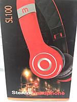 Наушники - Гарнитура (микрофон) Soul SL100 красный