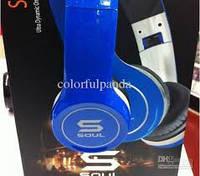 Наушники - Гарнитура (микрофон) Soul SL100 синий