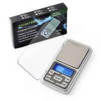 Карманные весы Pocket scale, ювелирные электронные весы 0,01 500 грамм /деление 0,1