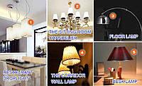 220В Светодиодная лампа Энергосберегающая 20 шт комплект 9 ватт, Е27