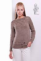 Вязаные шерстяные женские свитера Лагода с акрилом