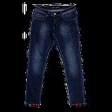 Мужские джинсы 17-356 ًсиние, фото 4