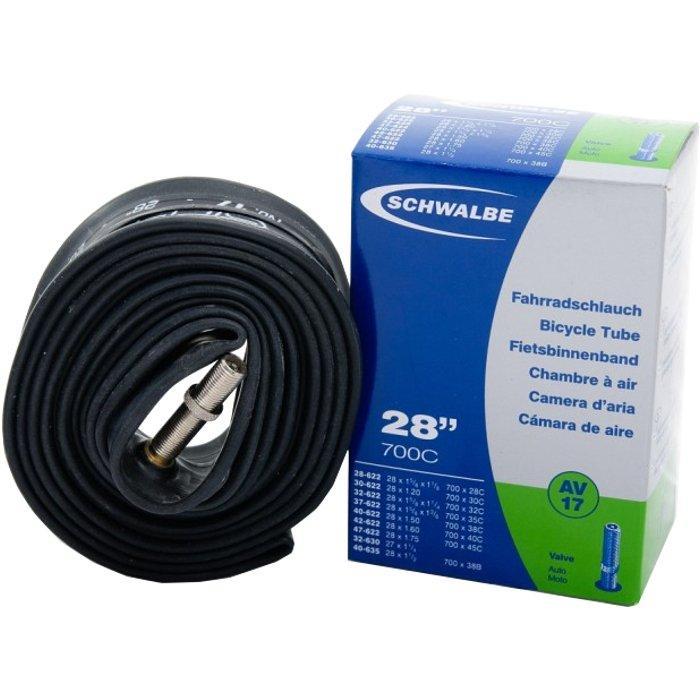 Камера велосипедная SCHWALBE AV 17 28x1.10-1.75 AUTO 40mm