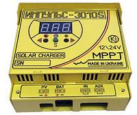 MPPT Контроллер заряда солнечной батареи Импульс 30А-12В-AUX 3010S, фото 3