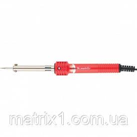 Паяльник, пластикова рукоятка,мідний наконечник з довговічним захисним покриттям,220 В,30W// MTX