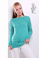 Вязаные шерстяные женские свитера Лагода-3 с акрилом