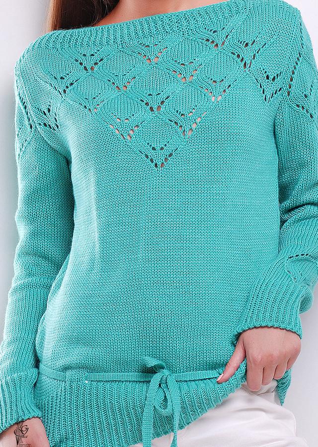 Фото-1 Вязаных шерстяных женских свитеров Лагода-3 с акрилом