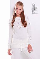 Вязаные шерстяные женские свитера Лагода-4 с акрилом