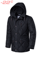 Куртка зимняя мужская Braggart Dress Code - 17921D черная
