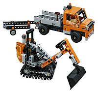 Lego technic дорожная техника Roadwork Crew 42060 Construction Toy