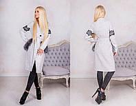 Дизайнерского кроя пальто