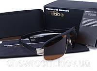 Солнцезащитные очки Porsche Design c поляризацией (p8517) золотая оправа