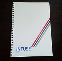 Фирменные блокноты с вашим логотипом А5, А6, А4