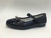 Подростковые туфли лаковые на девочек 31-36 Том.м