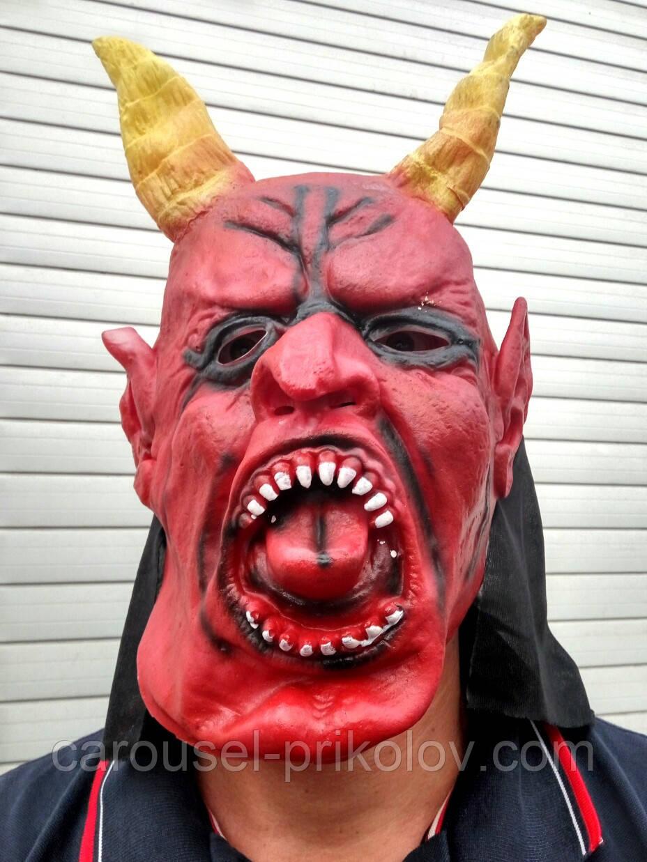 Маска Дьявола  DEVIL на Хэллоуин