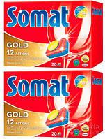 Таблетки для посудомоечной машины Somat Голд, 360 г (9000101044508)