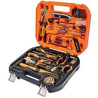 Набор ручного инструмента Montero 90551, 62 предмета